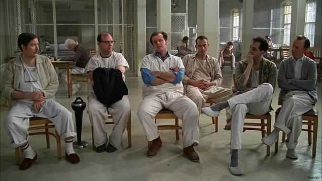12. One Flew Over the Cuckoo's Nest