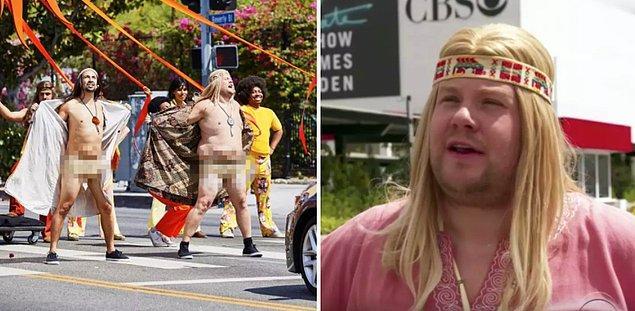 8. Lin-Manuel Miranda ile beraber Los Angeles sokaklarında 'Hair' gösterisi yapması ve tüm sokağa çıplak görünmesi. 😎