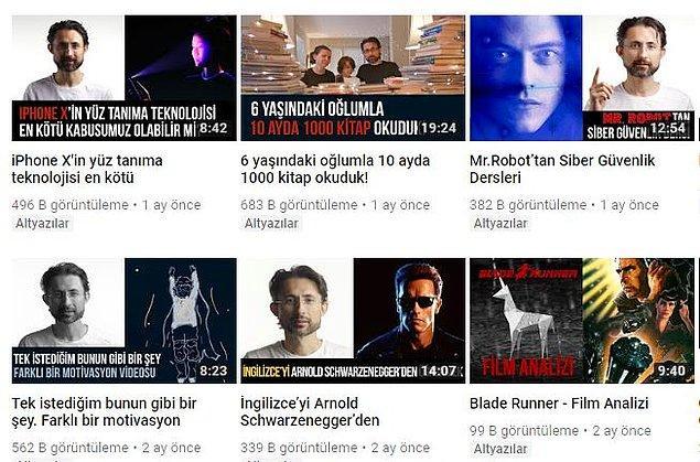 Barış Özcan da YouTube emekçilerinden. Tam 10 yıldır bu işi çok başarılı bir şekilde yürütüyor.