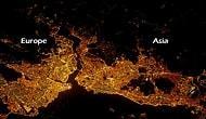 Uzaydan geceleri büyüleyici şekil de gözüken 50 şehir