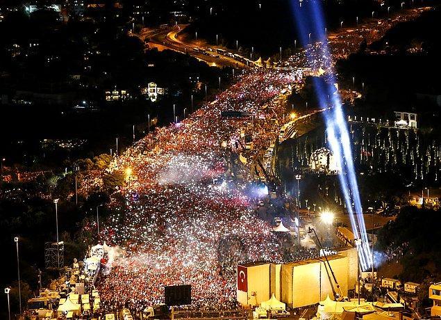 2. 15 Temmuz Demokrasi ve Milli Birlik Günü. 📷 Elif Öztürk
