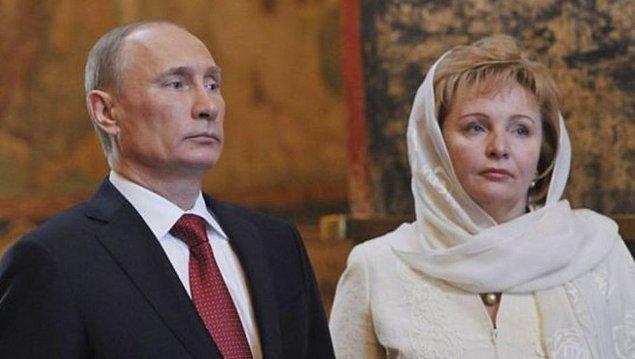 Öncelikle gelelim Putin'in eski eşine: Ludmiła Putina!