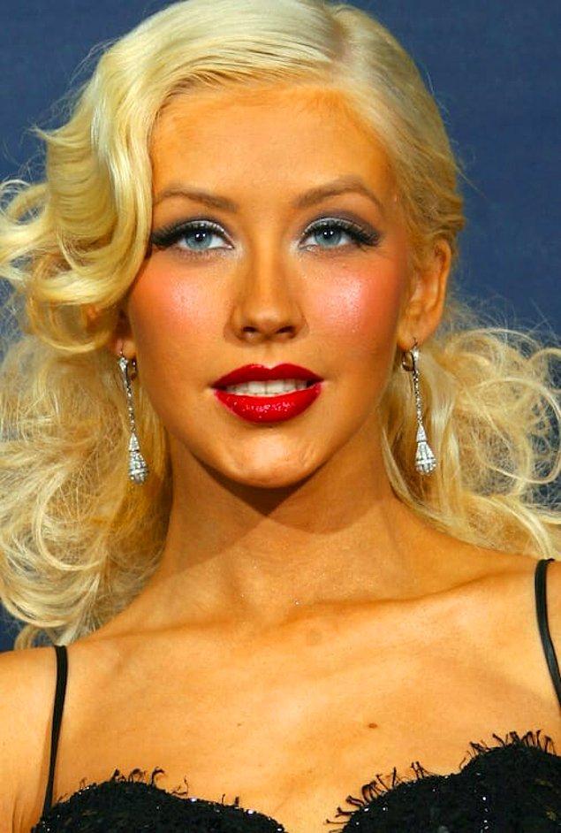 5. Christina Aguilera