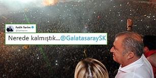 'Nerede Kalmıştık?' Fatih Terim'in Yeniden Galatasaray'a Dönmesinin Ardından Sevinçten Çılgına Dönen Taraftarlar