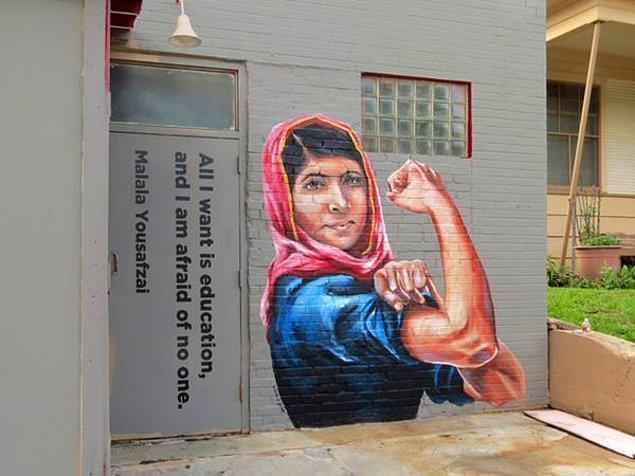 İşte sokaklardaki Malala...