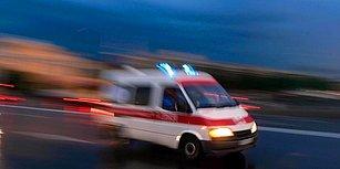 13 Günlük Bebeği Yoğun Bakıma Götürüyorlardı... Ambulans Personeli 'Geçiş Üstünlüğün mü Var?' Denilerek Darp Edildi