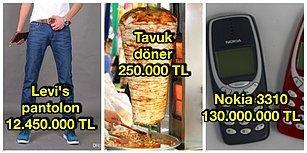 1999 Yılında Sıradan Şeylere Neler Ödediğimizi Gösteren 13 Ürünün Fiyatı