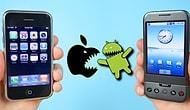 Bu Savaş Nasıl Başladı? İlk Android ve iOS Akıllı Telefonları Karşılaştırıyoruz