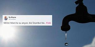 İstanbulluların Bitmeyen Su Çilesi! İSKİ Arıza Giderildi Dedi, Sosyal Medya İsyan Etti