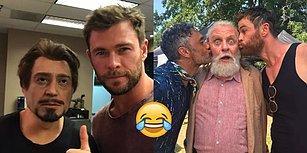 Chris Hemsworth'ün 2017'de 'Sosyal Medyanın Kralı' Unvanını Hak Ettiği Muhteşem Anlar