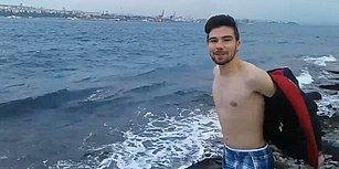 'Fatih Terim Galatasaray'a Gelirse Denize Atlarım' Diyen Taraftar Sözünü Tuttu!