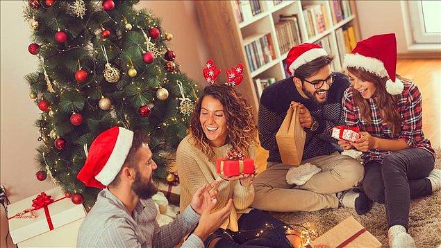 'Yılbaşını nasıl kutluyorsunuz?' sorusuna yüzde 72'lik kesim 'evde ailemle', yüzde 13 ise 'evde arkadaşlarımla' yanıtını verdi.