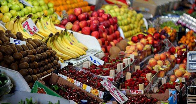 5. Yılbaşı sofrası bol çeşitli bir meyve tabağı olmadan olmaz.