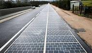 Çin'den Elektrikli Araçların Hareket Halindeyken Şarj Olabileceği Güneş Enerjili Yol