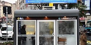 Tekirdağ'da Örnek Uygulama: Vatandaşların Soğuktan Etkilenmemesi İçin Klimalı Durak Yapıldı