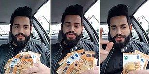Almanya ve Türkiye'deki Asgari Ücreti Kıyaslayan Adam