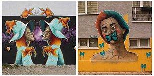 Sokakların Ruhsuz Duvarlarını Çizimleriyle Sanat Eserine Dönüştüren Sanatçı: Devak