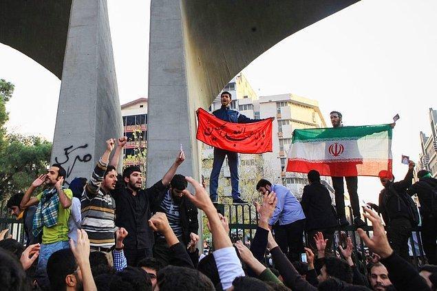 """3. """"İranlıların dışarıdan yönlendirmelerle rejim değiştirmeye kalkışacakları beklentisi boş"""""""