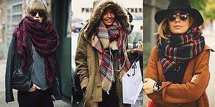 Biraz Daha Sarıp Sarmala! Kış Aylarında Sıcacık Kalmak İsteyenlere Battaniye Şal Modası