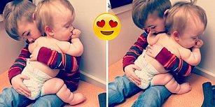 Abisinin Kucağında Uyuyakalan Dünyalar Tatlısı Bebek