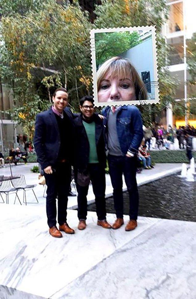 """25. """"New York'a ilk gezimizde bir yabancıdan fotoğrafımızı çekmesini istedik. Tahmin ettiğimizden iyi bir sonuç aldık."""""""