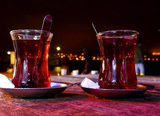 4. Siyah çay