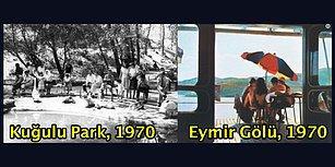 Eskiden Her Şey Bir Başka Güzelmiş... Başkent Ankara'nın Geçmişten Günümüze 30 Fotoğrafı