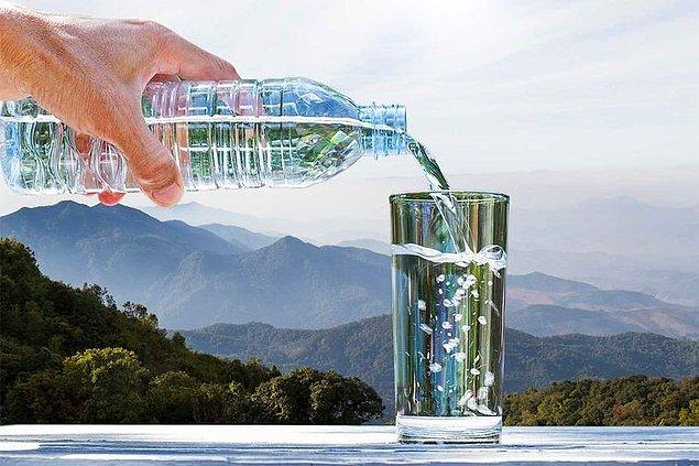 Çiğ suya ödenen paraları duyunca gözleriniz yuvalarından çıkabilir.