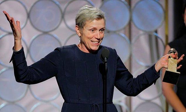 Drama Dalında En İyi Kadın Oyuncu: Frances McDormand