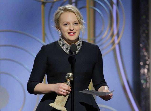 TV Drama Dalında En İyi Kadın Oyuncu: Elisabeth Moss