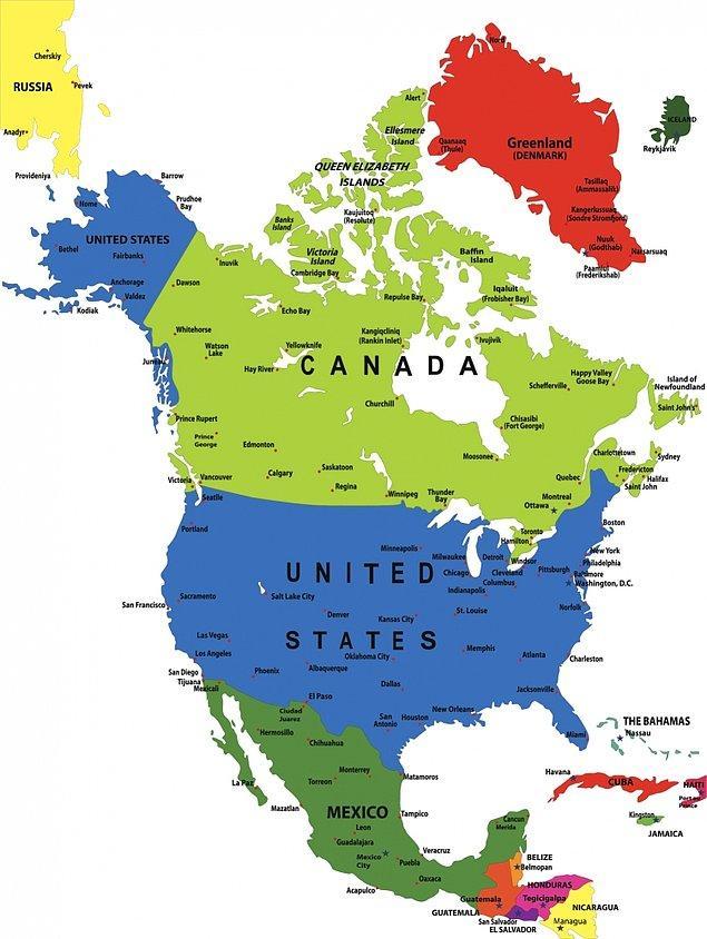 Kuzey Amerika!