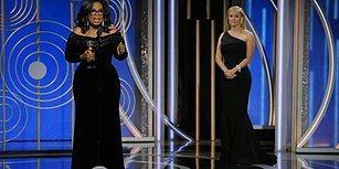 Ünlü TV Programcısı Oprah Winfrey'nin Altın Küre Ödülünü Alırken Yaptığı Konuşma Gözlerinizi Dolduracak!