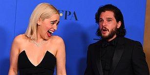 'Game of Thrones' Yıldızları Emilia Clarke ve Kit Harington Altın Küre Ödüllerinde Yine Kankalığın Kitabını Yazdı!