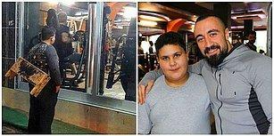 Spor Yapanları Camdan Seyreden 12 Yaşındaki Suriyeli Çocuğa, Spor Salonundan Ömür Boyu Üyelik!