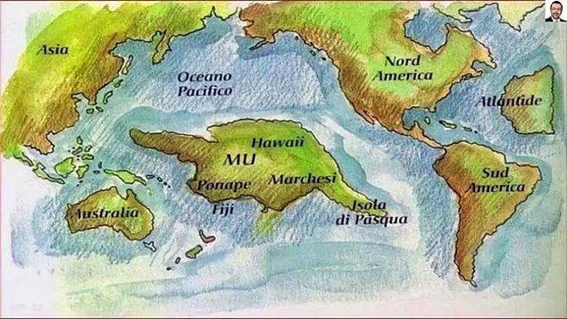 8. Esrarengiz Mu kıtası