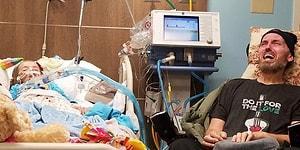 Birkaç Gün Arayla Ölecekler! Torunu Kanserden Ölmek Üzere Olan ALS Hastası Dedenin Gözyaşları