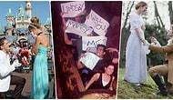 Sizin de Asla Hayır Diyemeyeceğiniz, Birbirinden Romantik ve Sıra Dışı 22 Evlilik Teklifi 😍
