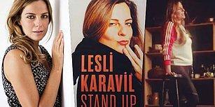 Kadın Mizahını Sahneye Taşıyan Taptaze, Hınzır ve Eğlenceli Bir Stand-Upçı: Lesli Karavil