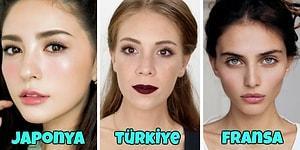 Güzellik Algısı Değişken: Dünyanın Farklı Ülkelerinde Hakim Olan Farklı Makyaj Stilleri