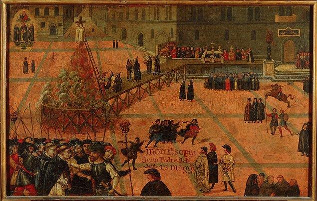 Burjuvaların devrimi ve Girolamo Savonarola'nın infazı