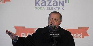 Erdoğan 'Kıçı Kirli Bazıları Sınırda Bize Tehdit Sallıyor' Dedi ve ABD'ye Seslendi: 'Teröristlerle Aramızda Durmayın'