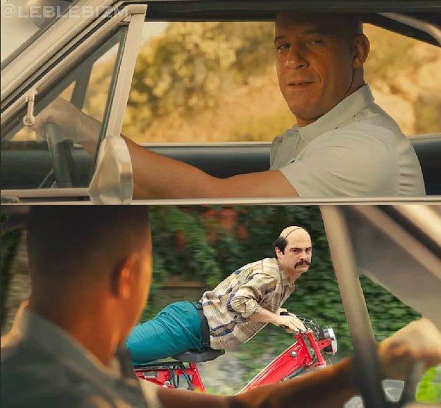 Dominic Toretto ve Tüpçü Fikret