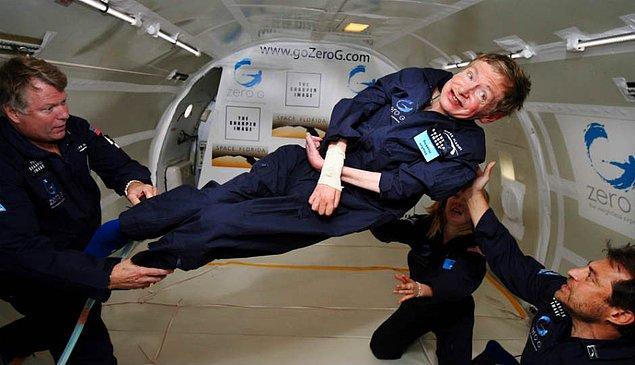 """""""Hawking'in değil başkasının teorileri bunlar"""""""
