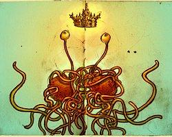 4- Uçan Spagetti Canavarı Kilisesi