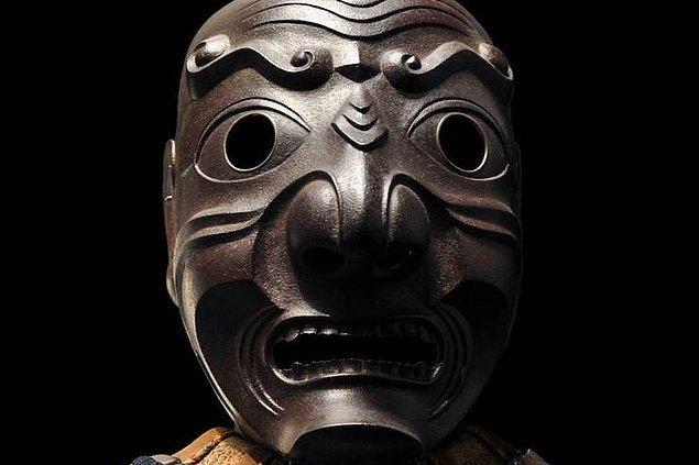 3. Samuray Yüz Maskesi