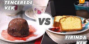 Siz Keki Nasıl Pişiriyorsunuz: Tencerede Kek vs Fırında Kek