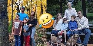 Çektirdikleri Aile Fotoğraflarının Paint ile Düzenlendiğini Görünce Gülme Krizine Giren Bahtsız Aile!