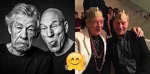 Profesör X ve Magneto'yu Hiç Böyle Görmediniz! Patrick Stewart ve Ian McKellen'ın Gerçek Hayattaki Müthiş Dostlukları