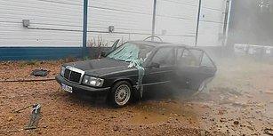 Tank Yıkama Tabancasıyla Mercedes Yıkanırsa Sonuç Ne Olur?