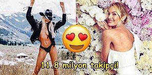 Gönderi Başına Yaklaşık 265 Bin TL Kazanan Instagram'ın En Etkileyici İç Çamaşırı Modeli: Candice Swanepoel!